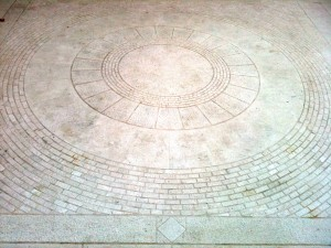 Marble Mosaic, Courtyard